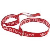 Personalized 6'  Embroidered Leash w/ D-ring