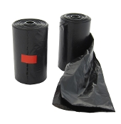 Black Paw Print Pet Waste Bags Only