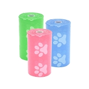 Paw Print Pet Waste Bags Only